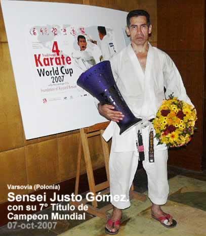 Foto - 7° titulo de Campeón Mundial (Justo Gómez)