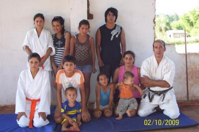 Clases en el Club Huracan y Santa Inés