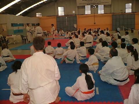 Foto N° 01 - 2º Torneo Nacional de Karate do Tradicional