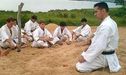 Encarnación Paraguay - Meditación Zazen 2005