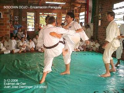 Diciembre 2006 - Dojo Soochin - Encarnación Paraguay
