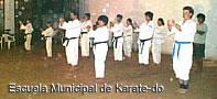 Actividades de la Escuela Muncipal de Karate - Posadas Misiones
