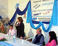 FUE INAUGURADO EL NUEVO LOCAL DEL CONSEJO BARRIAL DE LA ZONA OESTE