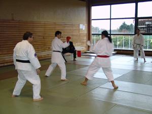 Foto - Kumite ( 2° campeonato Argentino de karate para sordos )