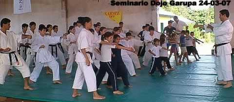 Seminario de karate-do en Santa Ines - Garupa