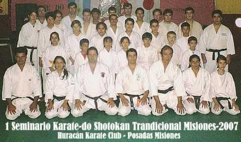 2007 1 Seminario Provincial de Karate-do Shotokan Tradicional en Misiones