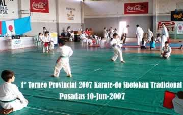 1° Provincial de Karate-do Tradicional en Misiones