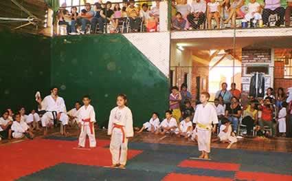 Resultados del 2º Encuentro Escolar de Karate do Tradicional 2007